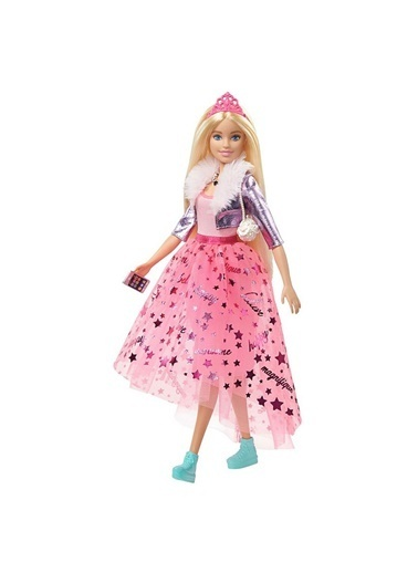 Barbie ZZ Prenses Macerası Prenses Barbie Oyuncak Bebek U325891 Renkli